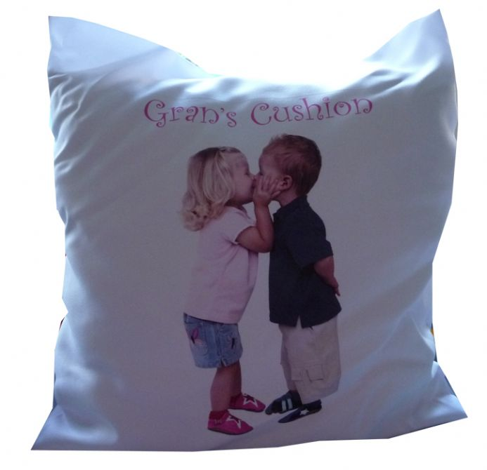 PERSONALISED CUSHION COVER add photograph for unique gift idea | Hot Graphix & Signs